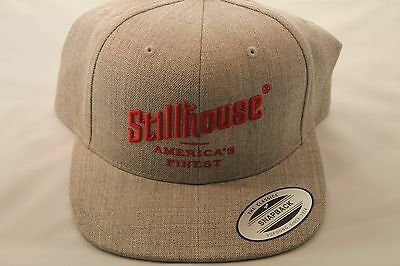 New Stillhouse Whiskey Moonshine Gray Adjustable Baseball Hat Cap