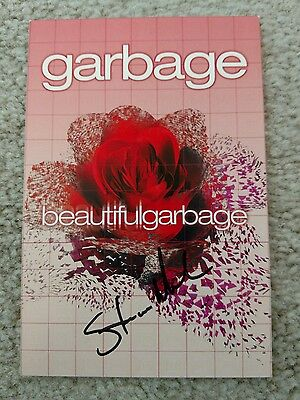 Garbage Beautiful Garbage Postcard signed by Steve Marker