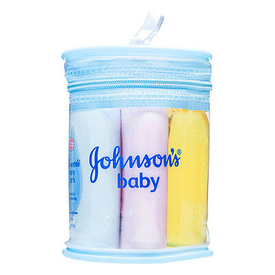 NEW Johnson's Baby Care Pack Miniatures Lotion Bath And Shampoo 50ml Powder 50g