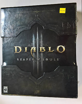 Brand New Sealed Diablo 3 III Reaper of Souls - Collector's Edition