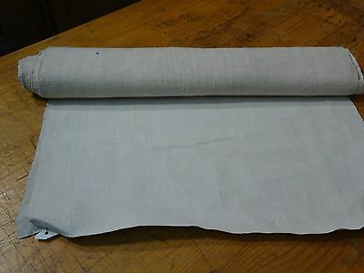 A Homespun Linen Hemp/Flax Yardage 2 Yards x 20.''' Plain  # 8332