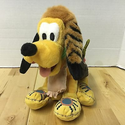 "Pluto The Dog Frontier Disney World Exclusive 7"" Beanbag Plush W/ Tags Free S/h"