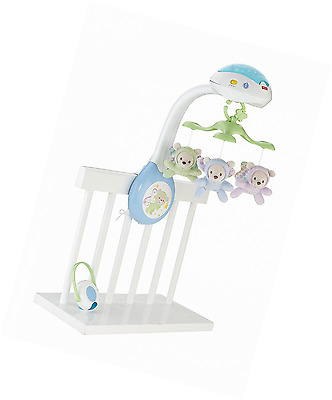 Fisher Price Mobile Crib Music Toy Toddler Nursery Musical Bed Box Bell Light