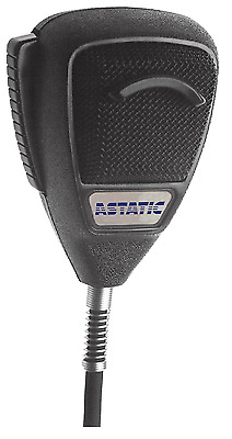 Astatic Noise-Canceling Omnidirectional Dynamic Palmheld Microphone with Talk Sw