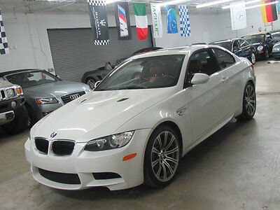 2013 BMW M3 Base Coupe 2-Door 6SPD MANUAL M3 COUPE RED INTERIOR NONSMOKER CALL BRYAN TO CLOSE