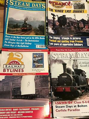 Bulk Lot Number #1168 22 Steam Days & Railway By Lines Magazines 2014 2015