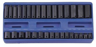 "Genius Tools 32PC 3/8"" Dr. Metric Deep Impact Socket Set - TF-332M"