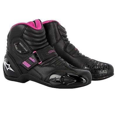 Alpinestars SMX-1.1 Stella Womens Ladies Motorcycle Short Road Sports Boots