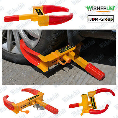 New Auto Car Truck Wheel Lock Clamp Boot Tire Claw Trailer Anti-Theft Towing