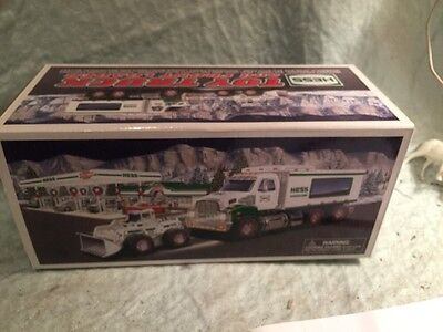 NIB**2008 Hess Toy Truck and Front Loader with Mechanical Bucket