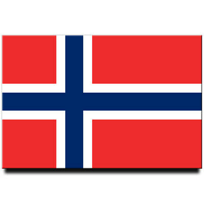 Fridge magnet Flag of Norway