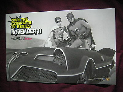 Batman TV Series / Lego Batman 3 Beyond Gotham Promo Poster BMTV66 Adam West