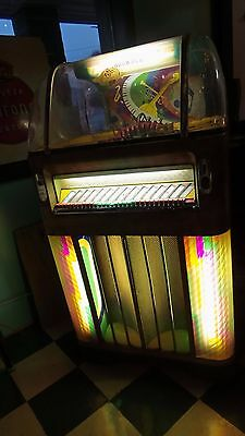 ROCK OLA 1436 Jukebox ~Fireball model~ complete ~ a rare find