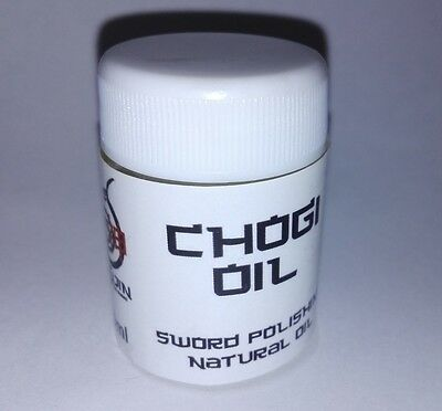 Chogi Oil traditional Japanese sword clean and maintenance oil