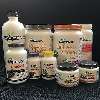 Special Isagenix 30 Day Nutritional Cleansing & Weight Loss Program