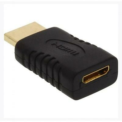 Nr.15x INLINE ADATTATORE HDMI 19PIN TYPE-A MASCHIO A HDMI MINI TYPE-C FEMMINA, '
