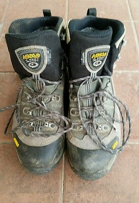 Men's Asolo Fugitive Gore-Tex Hiking Boots Size 11.5 US made in Romania.