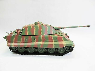 Henglong Heng Long 1:16 R/C S&S Kingtiger Tank Porsche Turret (Super Version)