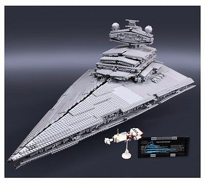 "Star Wars 10030 Imperial Star Destroyer UCS - 3250 pezzi -  ""Lego Compatibile"""