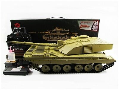 Henglong Heng Long 2.4GHz British Challenger 2 R/C S&S 1:16 Tank(Super Version)