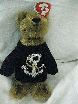 NEW SALTY TY Attic Treasure collectable bear - from pet and smoke free home -