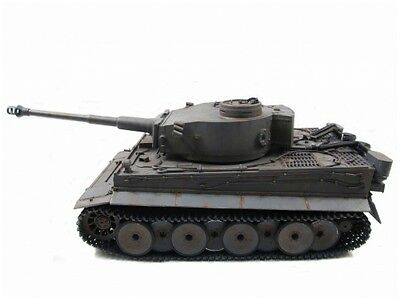 Mato 1/16 Complete 100% Metal Tiger I Tank (Airsoft, Grey,Ready to Run)
