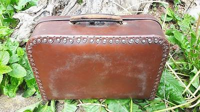 unique old suitcase