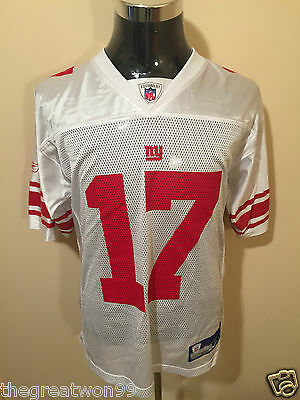 NFL New York Giants #17 MED 2005 7009A Printed Gridiron Jersey by Reebok