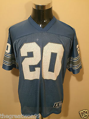 NFL Detroit Lions #20 YOUTH L/XL Printed Gridiron Jersey by Starter