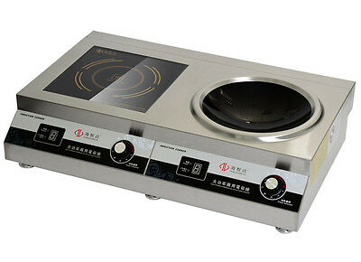 5000W + 5000W High Power Commercial Electric Cooker Induction Cooker 220V
