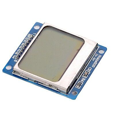 84x48 Nokia LCD Module Blue Backlight Adapter PCB Nokia 5110 LCD For Arduino K9