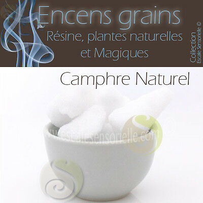 50g à 1kg au choix Camphre naturel Encens grains purificateur assainissant