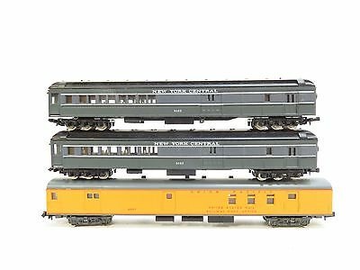 Rivarossi N Gauge Selection Of American Coaches X3 Unboxed (A8)