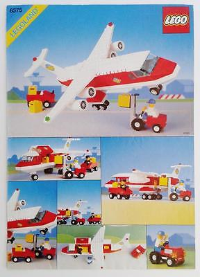 LEGO INSTRUCTION BOOKLET for set 6375 TRANS AIR CARRIER classic system town