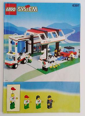 LEGO INSTRUCTION BOOKLET for set 6397 GAS n WASH EXPRESS classic system town