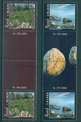 ALAND *2004 * compl.set 2 stamps in Block of 2 *MNH** Nature - Mi.No 241-242