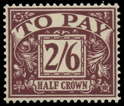 SGD54 1956 2s. 6d. Postage Due St. Edwards E 2 R. Unmounted mint. E1302.