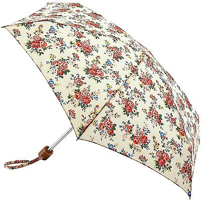 Cath Kidston Tiny Folding Umbrella - Spray Flower Cream