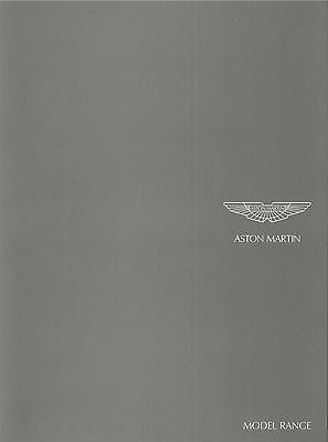 ASTON MARTIN VANTAGE DB9 DBS inc COUPE ROADSTER VOLANTE 2007 2008 brochure