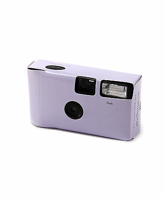 Lilac Disposable Single Use Camera Favour Pack of  8