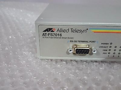 Allied Telesis AT FS7016 Managed 16 Port switch