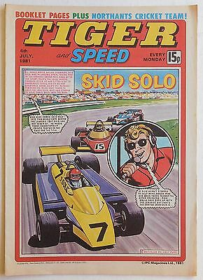TIGER & SPEED Comic - 4th July 1981