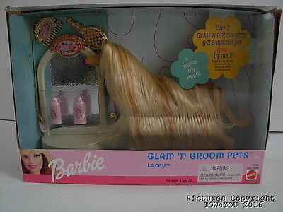 New Barbie Glam N Groom Lacey New Factory Sealed