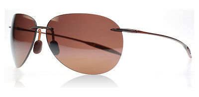 5e8d31f540f NEW Maui Jim Sunglasses Sugar Beach H421-26 Rootbeer   HCL Bronze Polarized  Lens