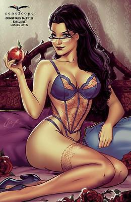 Zenescope Grimm Fairy Tales #125 Exclusive Cover Elias Chatzoudis Limit 125!