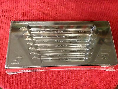 snap on 7pc metric flank drive spanners 10-17mm  new
