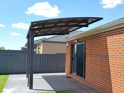 Cantilever Patio Cover 3.0m x 5.5m Car Port Aluminium Portable NEW