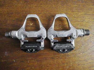 Dura Ace Pd 7810 10 Speed Pedals In Very Good Condition, Perfect Bearings