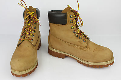 Bottines Boots TIMBERLAND Cuir Camel US 7,5 / UK 7 / FR 40,5 TBE