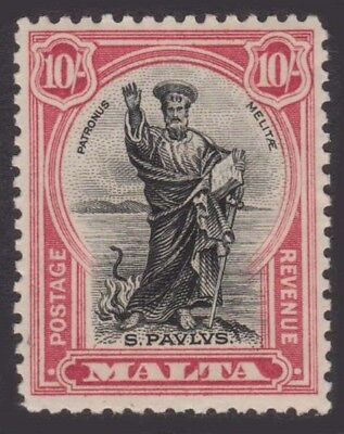 MALTA KGV 1930 Issue 10 Shillings Scott 183  SG209 Mint Never Hinged